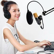 Microphone à condensateur de microphone USB Enregistrement studio avec montage