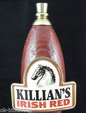 "Killians Irish Red Wooden 11"" Beer Tap Handle Keg Marker Bar Man Cave Rat Rod"