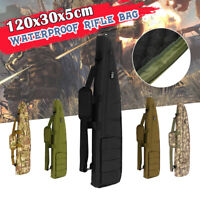 Tactical Outdoor Camouflage Gun Storage Case Bag Hunting Padded Rifle Backpack