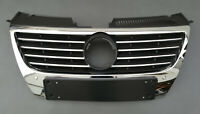 VW PASSAT B6 2005 -2010 FRONT BUMPER RADIATOR GRILL GRILLE WITH PDC 3C0853651AK
