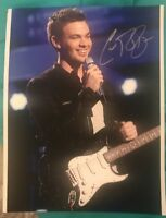CLARK BECKHAM SIGNED 8X10 PHOTO AMERICAN IDOL PERFORMANCE W/COA+PROOF RARE WOW