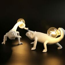 Nordic seletti lucertola luce di Notte moderna Carino Resina LED Animale