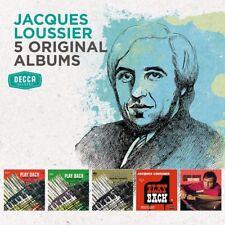 JACQUES LOUSSIER - 5 ORIGINAL ALBUMS (JOHANN SEBASTIAN BACH)  5 CD NEUF