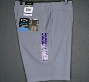 Callaway Men's Stretch Active Waistband Opti-Dry Golf Shorts w/ Media Pocket 36