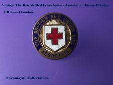 Vintage The Red Cross Society Association Enamel Badge.AH0019.