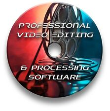 Pro video Editor de software CD Windows y Mac-DVD AVI, MPEG, MP4, MPEG, OpenDML