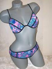 NWT Victoria Secret 34C M Fabulous Bali Floral Hipster Swimsuit Bikini