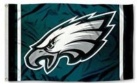 Philadelphia Eagles Flag ~ Large 3'X5' ~ Sports NFL Banner ~ FREE SHIPPING
