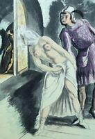 Campana Saint-André: Los Amantes Cara Sorprendida - Agua Fuerte, 1931 , 346ex