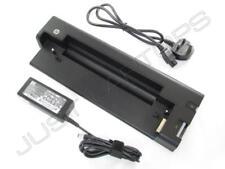 HP EliteBook 2540p 2560p Docking Station Port Replicator USB 3.0 + 65W PSU
