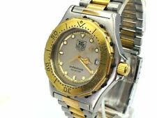 TAG HEUER Watch 3000 934.213  New Battery Quartz 18K Gold Plated  Men's  T1441
