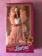 BARBIE PEACHES 'n CREAM EUROPEAN MARKET EXCLUSIVE MADE IN PHILIPPINES NRFB 1984