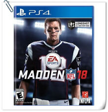 PS4 Madden NFL 18 SONY PlayStation Electronic Arts EA Sports Games
