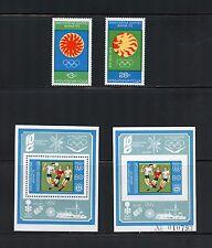 Bulgaria 1973  #2106-8  olympics soccer set & perf & imperf sheets   MNH  I350