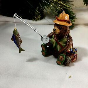 Hallmark Keepsake Christmas Ornament THIS IS THE LIFE (Fisherman) 2003 Mint