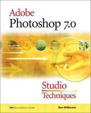 Adobe Photoshop 7: Studio Techniques, Acceptable, Willmore, Ben, Book