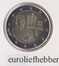 Slovenië       2 Euro Commemorative 2011   Franc Rozman