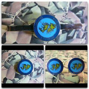 Veterans Falkland Islands Lapel / Cuff Links / Tie Bar Gift Set Veteran