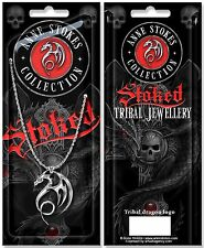 Anne Stokes Stoked Tribal Jewellery Pendant and 48cm box Chain