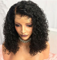 Natural Water Wave Wigs Brazilian Pre Plucked Full Lace Human Hair Wig Glueless