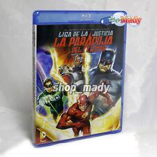 DCU: Justice League Flash Point Paradox Blu-Ray en Español Latino Región A New!