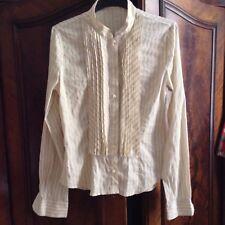 *Elegante Bluse mit feinen Silberfäden von R.E.D. VALENTINO, dt. Gr. 38*