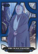 Star Wars Galactic Files 2018 Blue Base Card ESB-25 Obi-Wan Kenobi