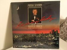 FRANK SINATRA with QUINCY JONES- L.A. IS MY LADY,  SEALED-- 1984