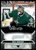 2020-21 UD MVP Super Script #89 Ben Bishop 25/25 - Dallas Stars