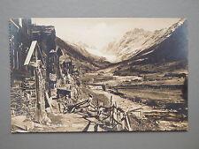 R&L Postcard: Lotschental Blatten Switzerland Suisse, Real Photo