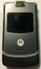 READ FIRST Motorola RAZR V3 Gray ATT AT&T Cell Phone Fast Good Used Parts Repair