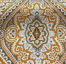 Purana Damask Butternut Burnt Orange Swavelle Millcreek Fabric by the Yard