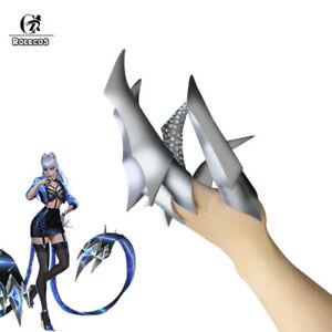 LOL Baddest KDA Evelynn Costume Prop 10 Fingers Hand Accessories Gift