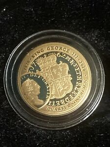 2020 King George Quarter Sovereign 22ct Gold  From Hatton