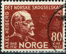 Norway Famous polar expeditions sponsor Axel Heiberg stamp