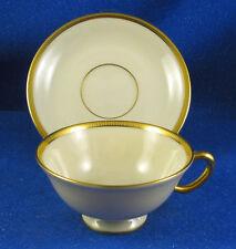 "LENOX: ""Tuxedo"" Pattern, NINE Beverage Cups and Saucer Sets - Pristine - ESTATE"