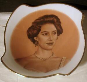 Vintage Aynsley HRH Princess Margaret 1958 Visit to Canada Fine Bone China Dish