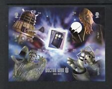 GB MNH 2013 MS3451 50TH ANV OF DOCTOR WHO MINISHEET
