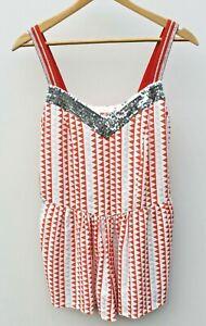 Designer Sass & Bide - Summer Jumpsuit Lost Weekend Size 36 As New, RRP $290