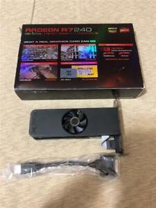 NEW XFX Radeon R7 240A PCIe Graphics 3.0 Video Card 2GB GDDR3 VGA DVI HDMI 3D