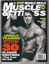 Muscle & Fitness ARNOLD SCHWARZENEGGER Bodybuilding Magazine/Stacy Keibler 1-05
