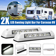 2pcs 12V 24V Awning Light Door Entry Light Bar Strip Lamp For Caravan Motorhome