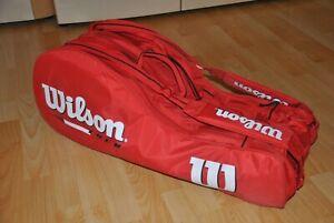 Tennistasche Wilson, gefüllt, siehe Fotos und Beschreibung