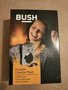 Bush Portable Walkman Personal Radio Cassette Player Recorder  BRAND NEW
