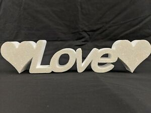**SALE** Love Sign - Love Letters Glittered - Wedding / Valentine Ideas **SALE**