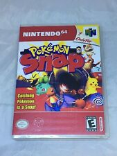 Pokemon Snap Custom N64 Nintendo 64 Case Only (No Game included)
