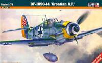 MESSERSCHMITT Bf 109 G-14 (CROAT AF & LUFTWAFFE MKGS)#C151 1/72 MISTERCRAFT