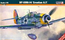 MESSERSCHMITT Bf 109 G-14 (CROAT AF & LUFTWAFFE MKGS) 1/72 MISTERCRAFT