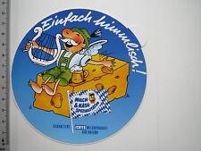 Aufkleber Sticker Milch & Käse Spezialitäten aus Bayern (M1923)