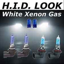 HB4 HB3 501 65 / 55W Bianco Xenon HID look FARO BASSO HIGH BEAM LAMPADINE pacchetto